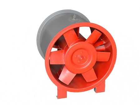 1HTF系列消防高温排烟轴流风机